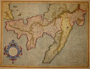 Apuliae mappa Mercatore