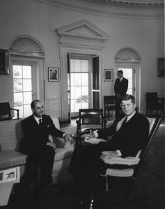 Codacci - Pisanelli col presidente Kennedy