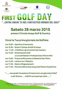 FIRST GOLF DAY