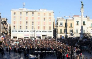 Lecce - manifestazione ulivi #salviamogliulivi