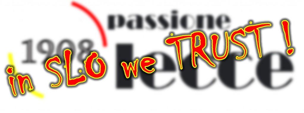 in SLO we TRUST