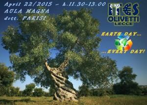 Giornata della Terra - Ies Olivetti - Don't touch my olive tree