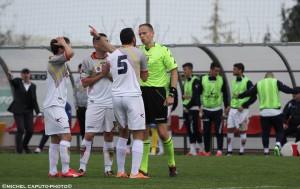Melfi Lecce gol annullato ad Abruzzese
