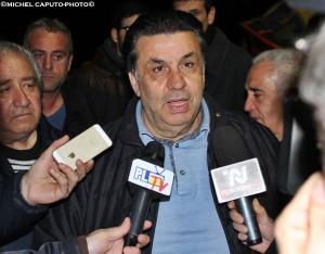 Savino Tesoro in piazza 31-3-2015