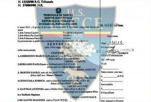 processo Calciopoli Lecce