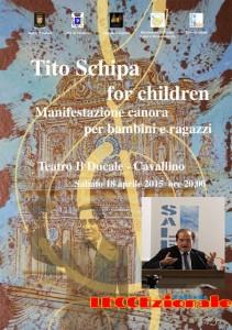 valori e rinnovamento  presenta _tito schipa for children
