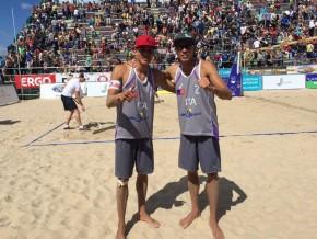 Beachvolley: i fratelli Ingrosso medaglia d'oro in Lettonia