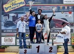 podio Albino Pepe Simone Masciullo Santino Siciliano