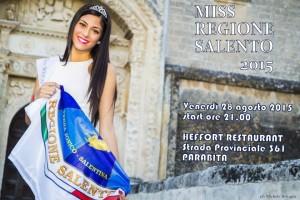 MISS REGIONE SALENTO 2015 PARABITA