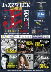 locandina Jazz Week Summer 2015