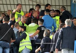 tafferugli Martina-Lecce 2