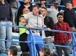 tafferugli Martina-Lecce 4