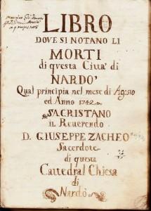 Liber-mortuorum Nardò