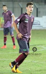 Gabriele Gigante, centrocampista del Nardò