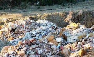 materiale di risulta rifiuti
