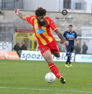 Davide Moscardelli, attaccante del Lecce