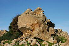 rovine tempio zeus