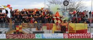 tifosi Lecce a Matera