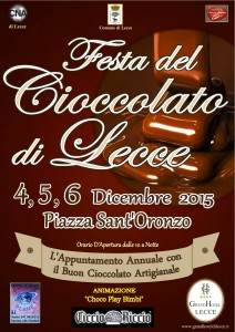 Manifesto Cioccolato Lecce 2015