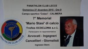 Panathlon Memorial Stasi 27 -12 -2015