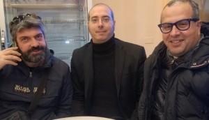 Nella foto Nevio D'Arpa (Btm) Cristian Benvenuto (Anip) Salvatore Calcagnile (Imprese di Puglia e Tribunale Arbitrale di Lecce)
