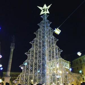 albero luminarie lecce