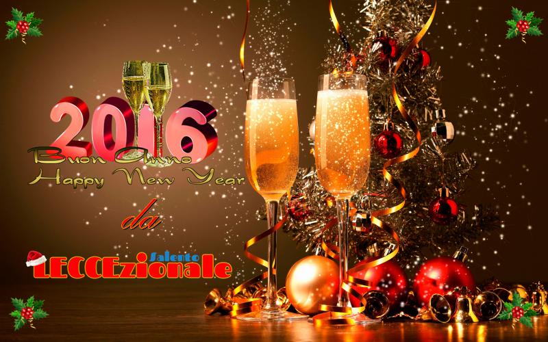 buon anno 2016 leccezionale
