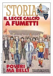Il Lecce Calcio a fumetti