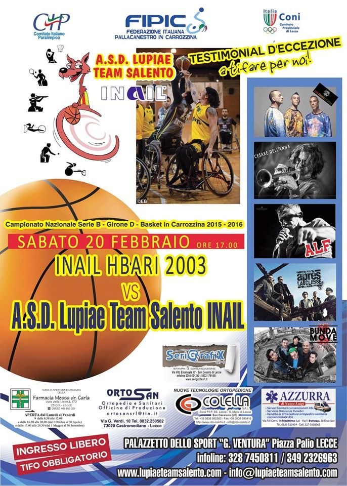 Locandina ASD Lupiae Team Salento