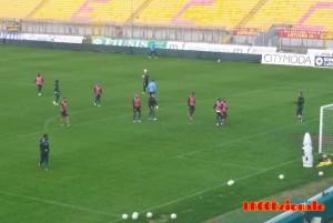 Lecce allenamento