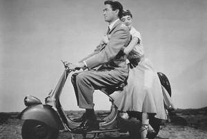 Vespa, Gregory Peck e Audrey Hepburn 70 anni