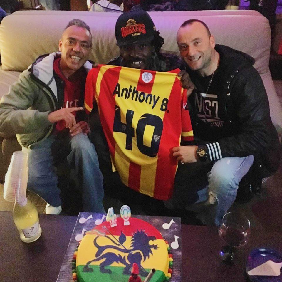 Anthony B con Don Rico e Terron Fabio