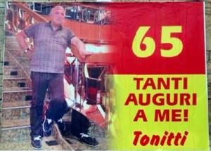 Auguri 65 anni Tonitti 2