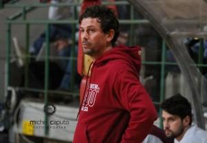 Alessandro Di Pasquale, coach dell'Andrea Pasca Nardò