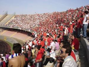 Tifosi del Bari a Lecce (17 maggio 2008)