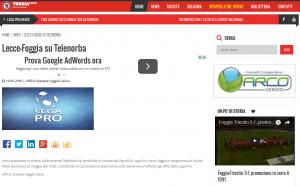 Lecce-Foggia su TeleNorba sito Foggia calcio