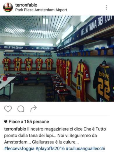 Il post di Terron Fabio su Instagram