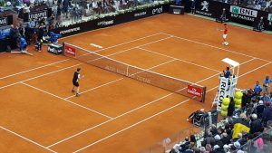 Murray e Djokovic in campo
