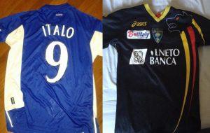 Lecce-Leicester: lo scambio di magliette tra tifosi
