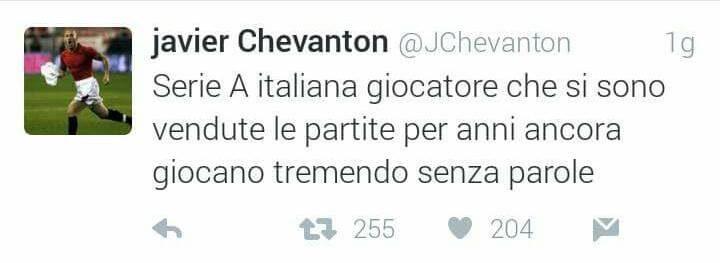 tweet chevanton