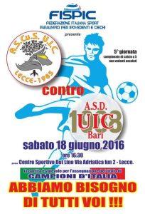 Ascus Lecce vs UIC Bari