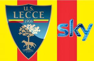 Giallorosso Lecce su Sky