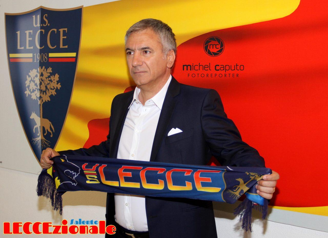 UFFICIALE: Lecce, definito lo staff tecnico