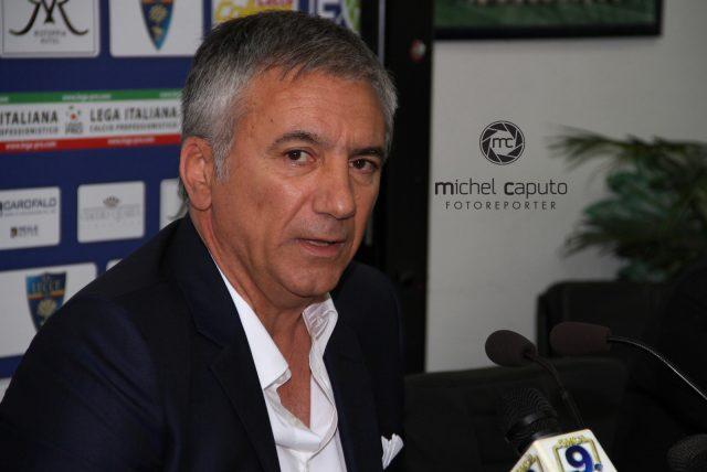 """Meluso: """"Lecce al completo. Qui si lavora bene"""""""