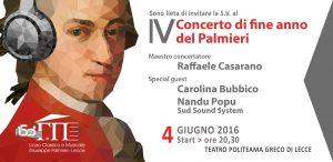 IV Concerto fine anno Palmieri
