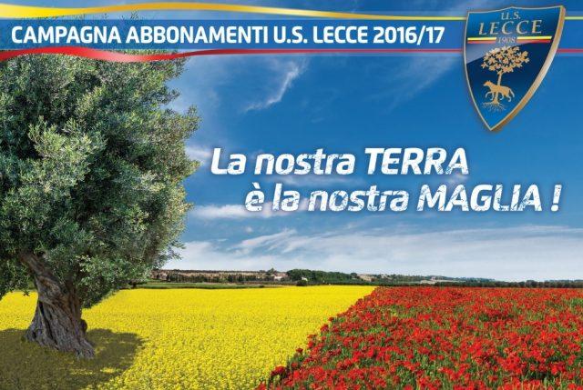 Lecce: abbonamenti a quota 723