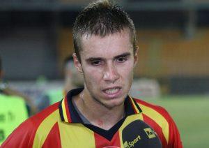 Antonio Vutov in gol all'esordio con la maglia del Lecce
