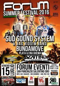 Sud Sound System S. Pancrazio