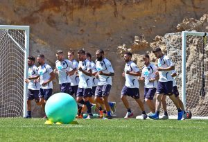 allenamento Lecce a Cotronei 3