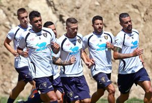 allenamento Lecce a Cotronei 4